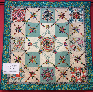 Avalon - Quiltsmith's upcoming Block of the Month Quilt