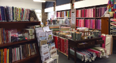 Inside Quiltsmith in Sydney's Annandale