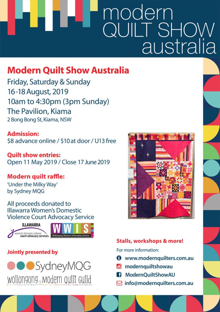 Show Posters & Flyers | Modern Quilt Show Australia