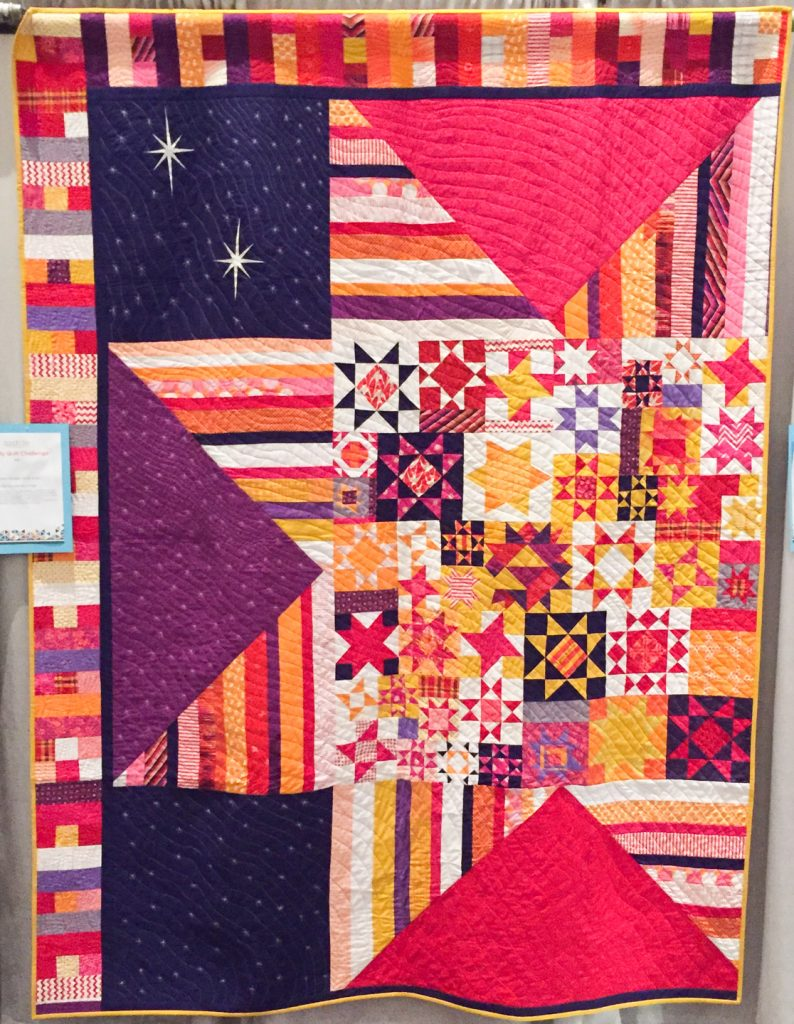 Under the Milky Way Raffle Quilt by SydneyMQG